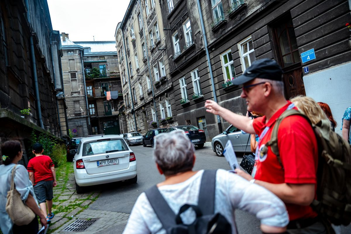 Fotorelacja z filmowej wycieczki po Przemyślu. Fot. Michał Woźny.